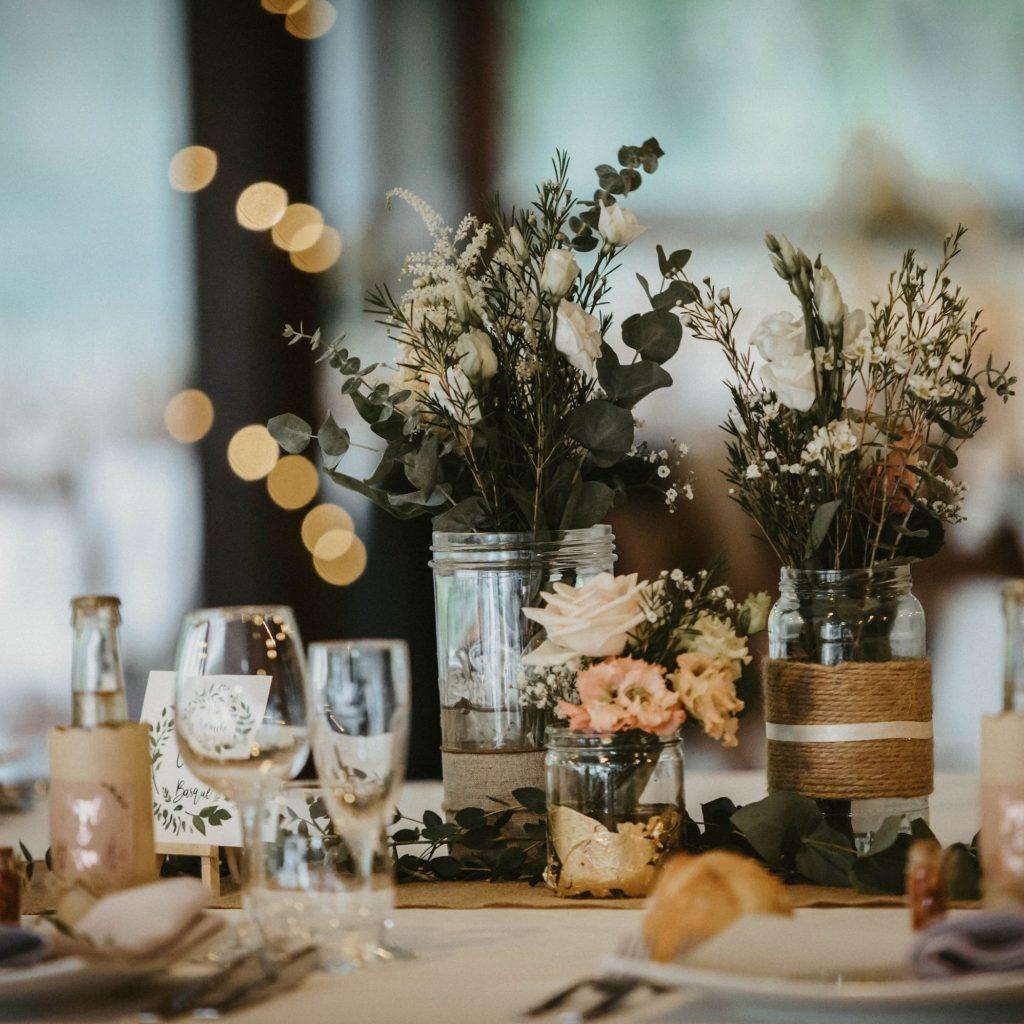 DECORATION DE TABLE DE MARIAGE